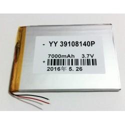 Batería Sunstech TAB101DC CA107QCBT TAB107QCBT