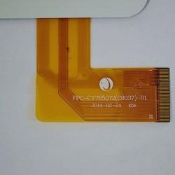 Pantalla tactil FPC-CY785072(C8037)-01 touch digitalizador