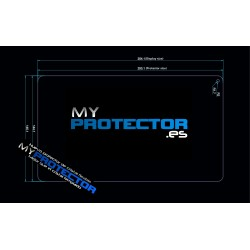 Protector pantalla tablet 10 pulgadas UNIVERSAL