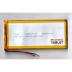 Batería universal 3800mAh 140 x 65 x 3,5mm