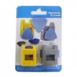 Magnetizador desmagnetizador con tres puas