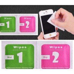 Toallitas WIPES para limipiar pantalla móvil
