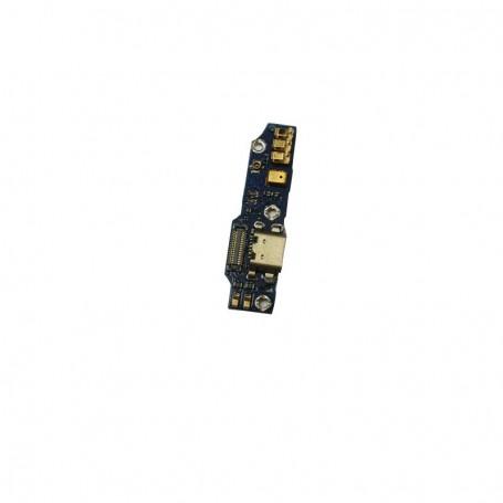 Flex de carga para MEIZU M1 Note con microfono