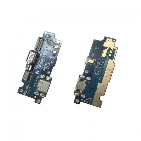 Conector flex Meizu M2 mini placa microUSB