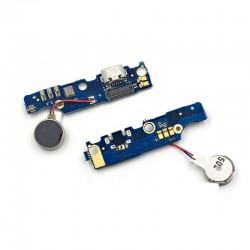 Conector cable flex Meizu M2 Note placa microusb