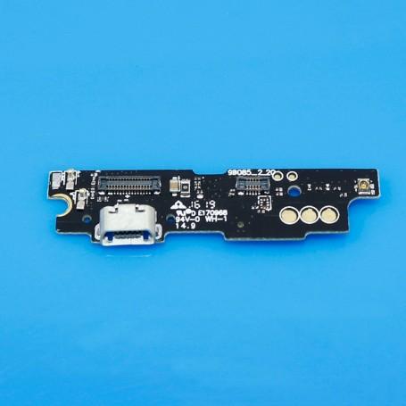 Conector Dock Flex MeiZu M3 Note placa Micro USB