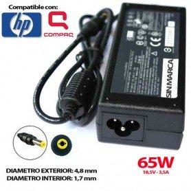 CARGADOR PORTATIL HP 18.5V 3.5A 65W COMPATIBLE