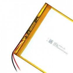 Batería tablet 3,7v 6000 mAh 110mm 110mm 4.3mm