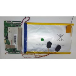 PLACA BASE MID1008L-MT8127-LPDDR2 VER1.2 con TORNILLOS Y BATERÍA SOLDADA GSP3896130 Science4you Tab4you