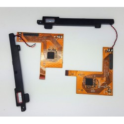 Cable flex DEL SPEAKER Y CONEXIÓN PARA PANTALLA TACTIL con TORNILLO -MB979Q9-TP-V1_2 Wolder miTab New York
