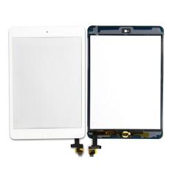 Pantalla táctil para iPad Mini blanco con boton