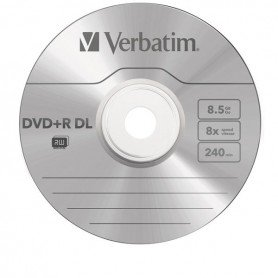 DVD Verbatim Doble Capa 8,5GB XBOX