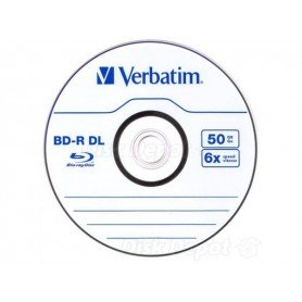 Verbatim Blu-Ray DOBLE CAPA DL 6x 50GB