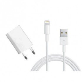 Cargador 2 en 1 Red/USB para Iphone 5 6 7 8 X Xr Xs