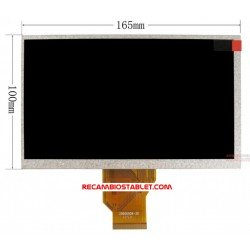 Pantalla LCD Szenio pc 7100DC 7100DCII FPC070-02P50-A0