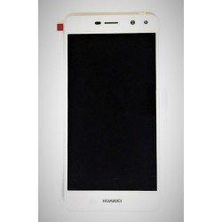 Pantalla completa Huawei Y6 2017 táctil y LCD blanca