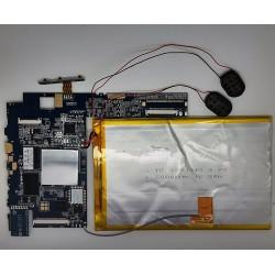 Placa base ZX_V10F_V1.3_130528 wolder genius + tornillos Wolder miTab Genius