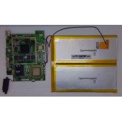 Placa base IL-7/PAD_V4 + bateria + altavoz + tornillos + botones de power y volumen Woxter Nimbus 97 Q