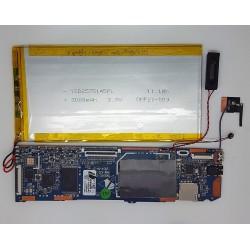 Placa Q88-A23-V5.2 SP1406024 +antena + altavoz + bateria Wolder miTab Live