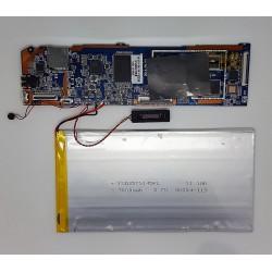 Placa Base SP1409009 15090 SY831 +antena + bateria + altavoz + tornillos Wolder miTab IOWA