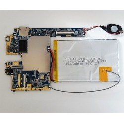 Placa INET-D71C-REV02 Zeng-gc + antena + altavoz + bateria + tornillos Wolder miTab Boston