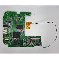Placa base T01A_V9 + altavoz + antena Wolder MiTab Urban