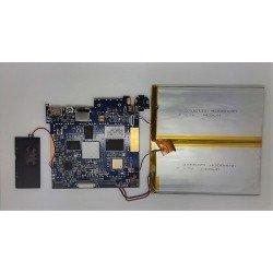 Placa base Q97S-A31S V1.0 + bateria + altavoz + antena Wolder MiTab Follow