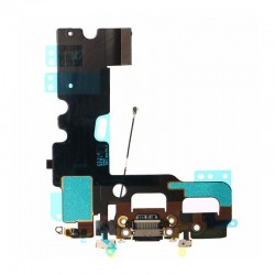 Conector de carga Flex iPhone 7 negro 821-00270-A1