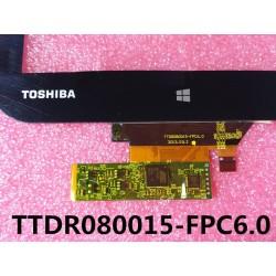 Pantalla táctil Toshiba Encore WT8 80A01-FPC-1 A1 / TTDR080015-FPC6.0