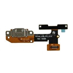 Conector carga flex Lenovo Yoga TAB 3 10 YT3-X50F X50M placa USB