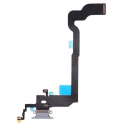 Conector carga flex iPhone X A1865 A1901 gris