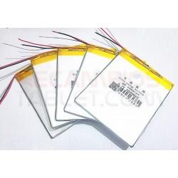 Batería EBOOK 120 x 60 x 3mm 5000mAh con 3 hilos