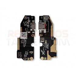 Conector carga bq Aquaris X5 placa microUSB