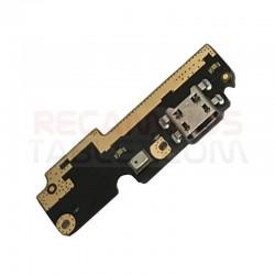 Conector carga bq Aquaris X5 Plus placa microUSB