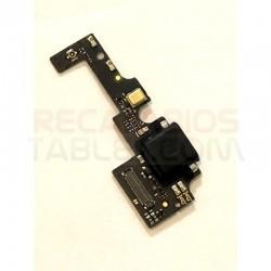 Conector carga bq Aquaris X PRO placa microUSB