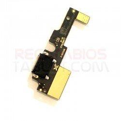 Conector carga bq Aquaris X placa microUSB
