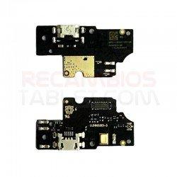 Conector carga bq Aquaris V U2 Lite placa microUSB