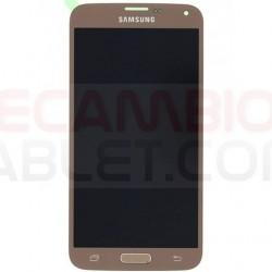 Pantalla completa Samsung Galaxy S5 Mini G800F SERVICE PACK