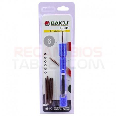 Baku BK-327 Set de destornilladores 6 en 1