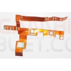 Cable flex con botones 50.42p08.001 REV A01 DELL latitude c400 pp03l
