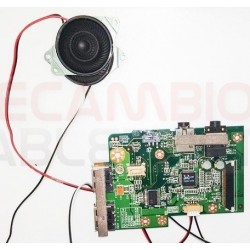 Tarjeta de audio con altavoces L50IIO