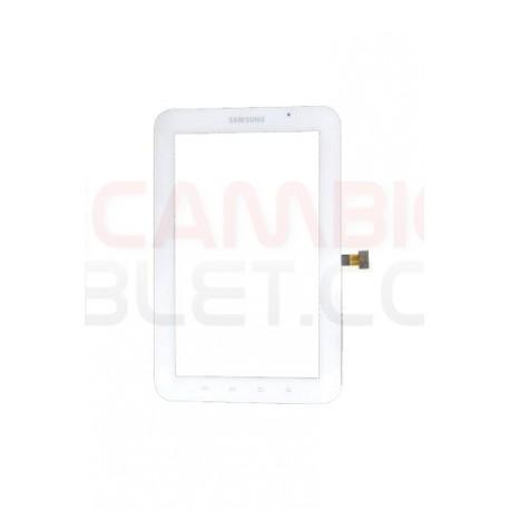 Pantalla táctil para Samsung Galaxy Tab P1000 P1010 BLANCA