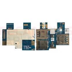 Conector de tarjetas SIM y SD Asus Zenfone GO ZB551KL 5816SIM-003