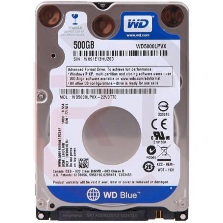 Disco duro WD WD5000LPVX 22V0TT0 500GB WX11A64AHYRU
