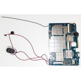 Placa base W706_MB_V3.1 con Altavoz, cable de antena y tornillos BRIGMTON B-BASIC7