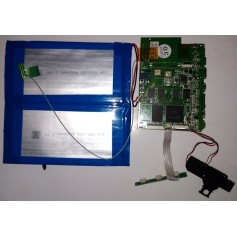 Placa base INET-3F-REV06 cable de antena, altavoces y boton de volumen y power YARVIK TAB466