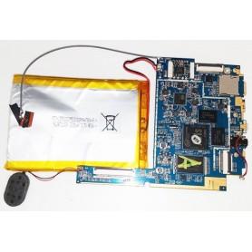 Placa base con altavoz y con cable de antena Xtreme tab X81