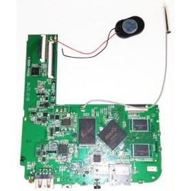 Placa base 1-6000-11400 con cable de antena, altavoz y tornillos MATTEL Monster High freaky tab