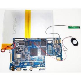 Placa base XZH_1001_3G-V2.01 altavoz y cable de antena Woxter 101 IPS DUAL