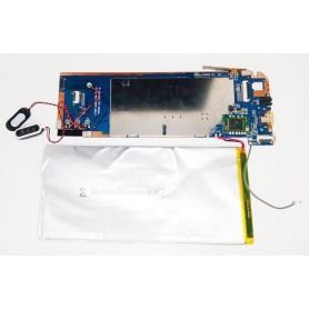 Placa base E788H-MAINBOARD-V2.0.0 altavoz, botones de power y volumen WOXTER NIMBUS 80QB